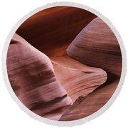 Lower Antelope Canyon 2 7978 Round Beach Towel