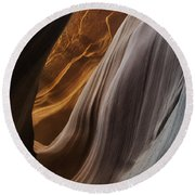 Lower Antelope Canyon 2199 Round Beach Towel