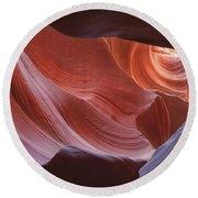 Lower Antelope Canyon 7729 Round Beach Towel