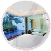 Luxury Bedroom Round Beach Towel