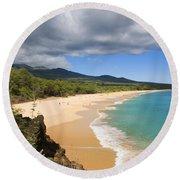 Makena Beach Round Beach Towel