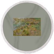 Marsh  Round Beach Towel