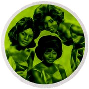 Martha And The Vandellas Collection Round Beach Towel