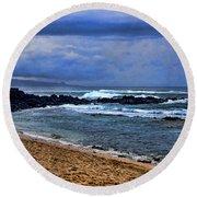 Maui Beach Round Beach Towel