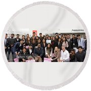 Mba Tour For Students Factory Visits Round Beach Towel