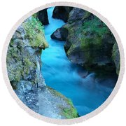 Meltwater Round Beach Towel