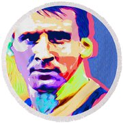 Messi Round Beach Towel