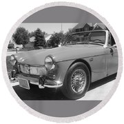 Mg Midget Round Beach Towel