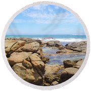 Mouth Of Margaret River Beach IIi Round Beach Towel
