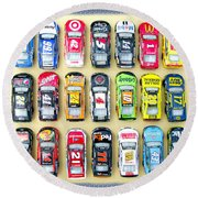 Nascar Collection Round Beach Towel