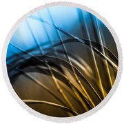 Natural Forms Round Beach Towel