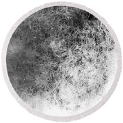 Nature Abstract Round Beach Towel