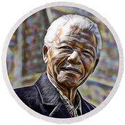 Nelson Mandela Collection Round Beach Towel