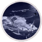 November Creek 3 Round Beach Towel