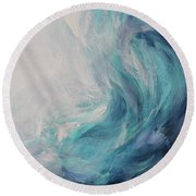 Ocean Song Round Beach Towel