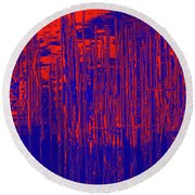 On The Way To Tractor Supply 3 24 Round Beach Towel