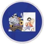 One Piece Round Beach Towel