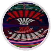 Opposit Arc Pattern Abstract Digital Graphic Art Interior Decorations Buy Painting Print Poster Pill Round Beach Towel by Navin Joshi