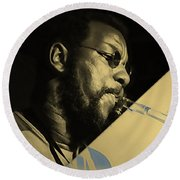 Ornette Coleman Collection Round Beach Towel