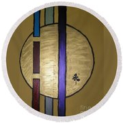 Oro Round Beach Towel
