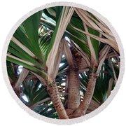 Palms Round Beach Towel