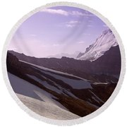 Pamir Round Beach Towel