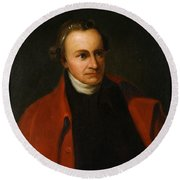 Patrick Henry, American Patriot Round Beach Towel by Science Source