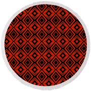 Pattern 11 Round Beach Towel
