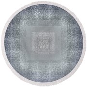 Pattern 78 Round Beach Towel
