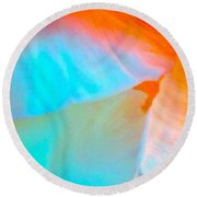 Petals Round Beach Towel