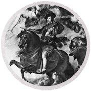 Philip Iv (1605-1665) Round Beach Towel