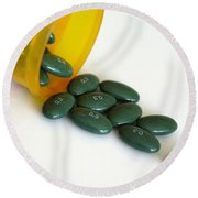 Premarin 0.3 Mg Pills Round Beach Towel