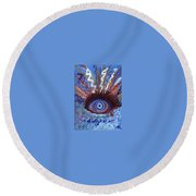 Ptsd Round Beach Towel
