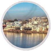 Pushkar - India Round Beach Towel