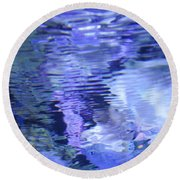 Reef Reflections Round Beach Towel