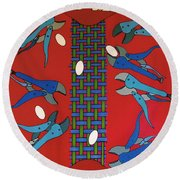 Rfb0919 Round Beach Towel