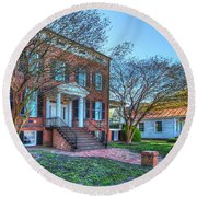 Riddicks Folly House Museum  Round Beach Towel