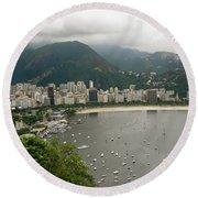 Rio De Janeiro Vi Round Beach Towel