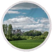 Ripon Cathedral Round Beach Towel