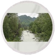 River Round Beach Towel