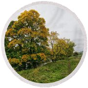 River Swale Round Beach Towel