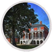 Robert Mills House, Sc Round Beach Towel