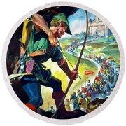 Robin Hood Round Beach Towel
