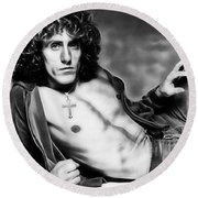 Roger Daltrey Collection Round Beach Towel