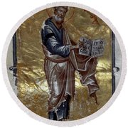 Saint Matthew Round Beach Towel