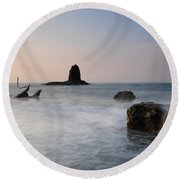Saltwick Bay Round Beach Towel