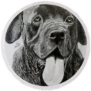 Sampson Round Beach Towel