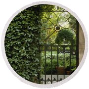 Savannah Gate Round Beach Towel