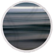 sea Round Beach Towel by Stelios Kleanthous