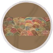 Seaside Round Beach Towel
